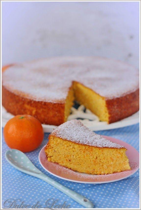 Mandarínkovo mandľový koláč (bez múky)