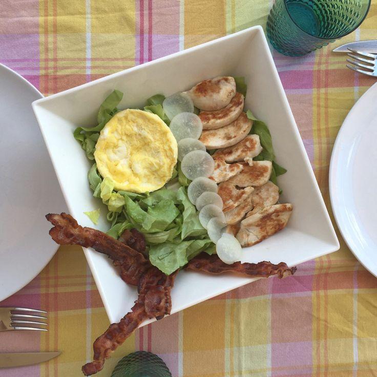 Insalata con tagliata di pollo Paleo | Paleo Sisters