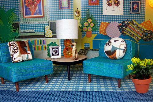 vintage dollhouse: colour inspiration, gorgeous mix of hues