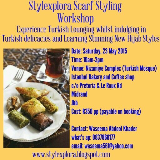Stylexplora Scarf Styling Workshop