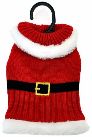 Otis & ClaudeFetching Fashion Holiday Santa Sweater XS-Small Dog Clothes - $7.99