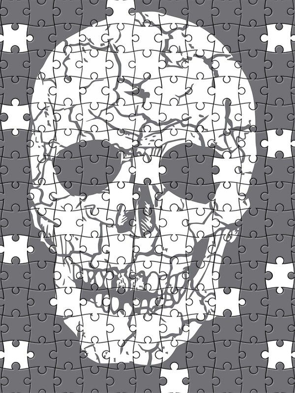 Free Jigsaw Puzzle Online - Skull