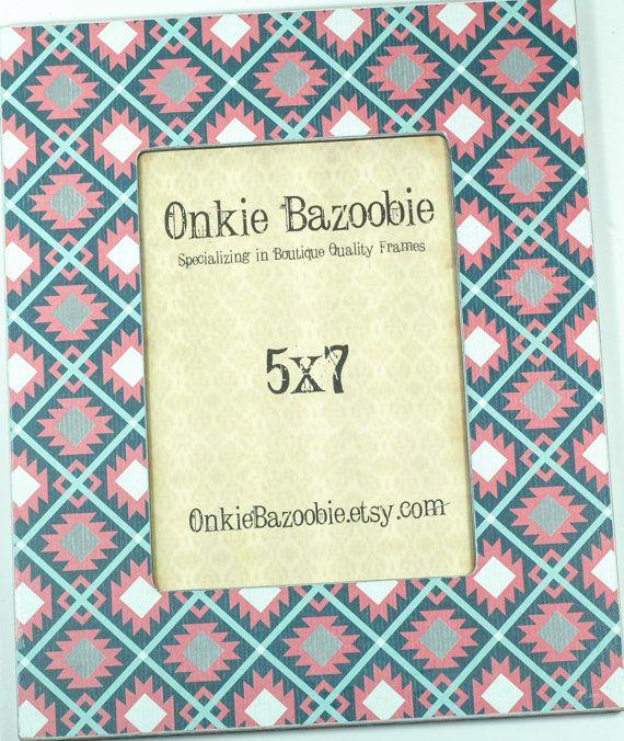 40% off Aztec Frame Southwestern Frame Cheyenne by OnkieBazoobie