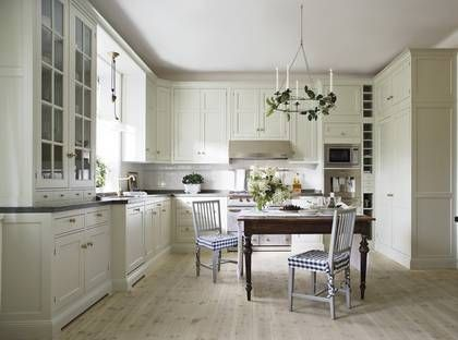 Scandinavian style kitchen. Yes, I have an unhealthy obsession with white kitchens.