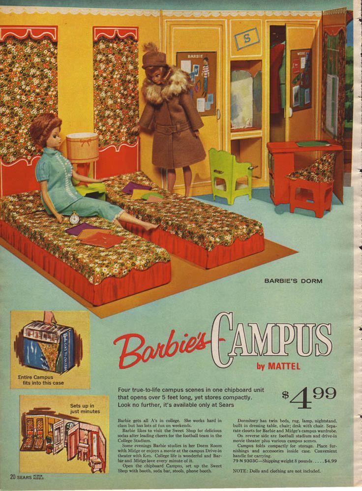 Les 11 meilleures images du tableau barbie vintage dream for Reve dream homes