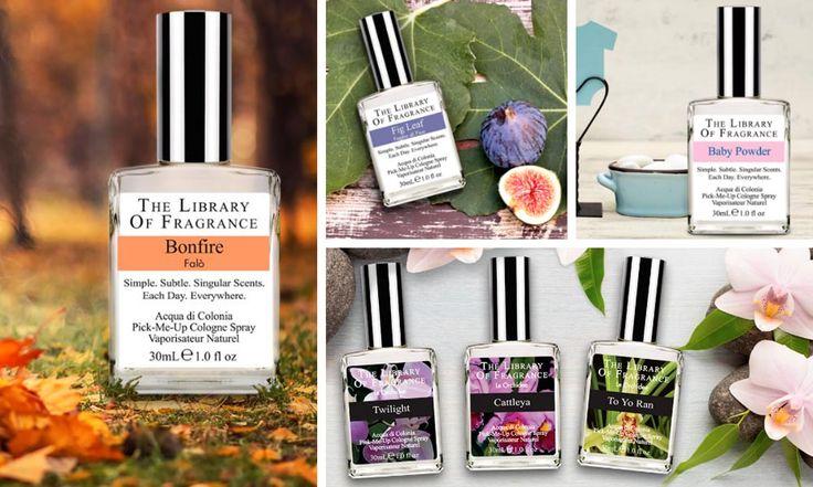 The Library of Fragrance: i profumi più originali! - http://www.beautydea.it/the-library-of-fragrance/ - Vorreste portare sempre con voi l'odore della neve? E cosa ne dite dell'odore di erba fresca appena tagliata? The Library of Fragrance ha trasformato questi odori in profumi spray!