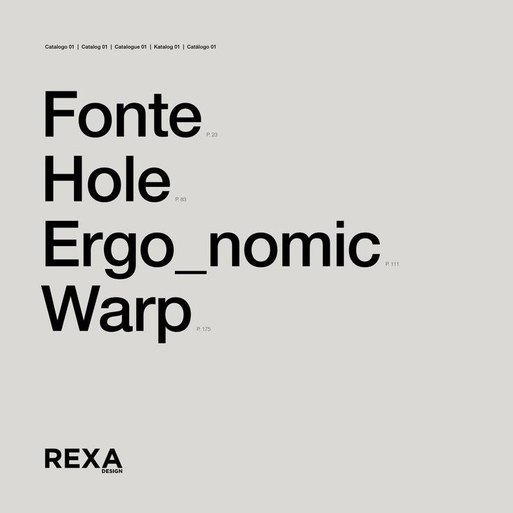 RexaDesign - cat. Fonte-Hole-Ergo-Warp