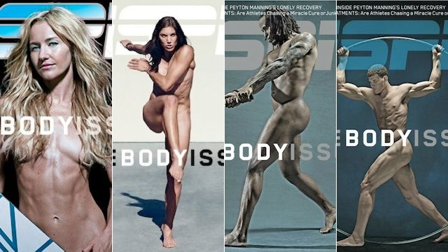 ESPN Body Issue...takes hardwork to look even close to these athletes