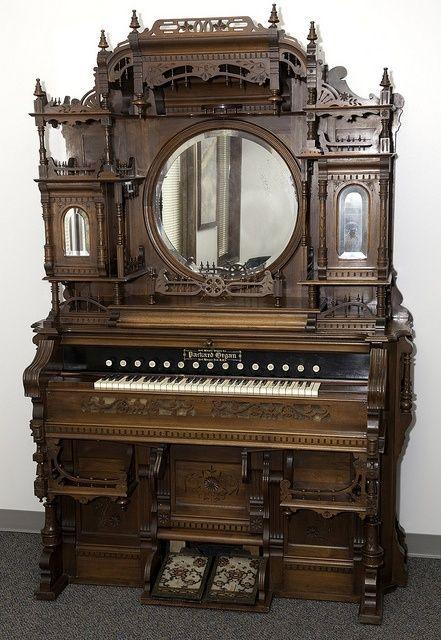 Kimball Victorian Furniture   Packard W reed organ