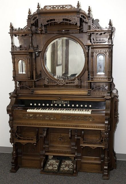 Kimball Victorian Furniture | Packard W reed organ