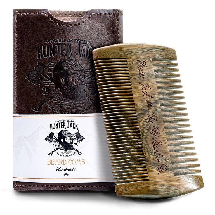 Beard Comb Kit for Men Great for Head Hair