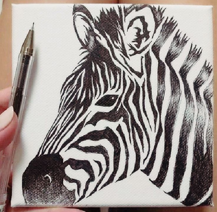 Draw with 0.25mm pen.