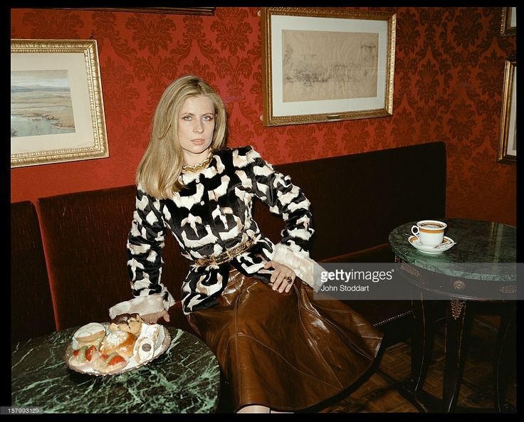 Lady Aliai Forte, the wife of British hotelier Sir Rocco Forte, circa 2000.