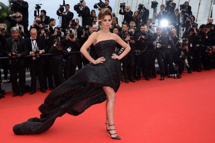 Cheryl Cole: la robe bustier noire VS la robe batman | Blog officiel de PERSUN.FR