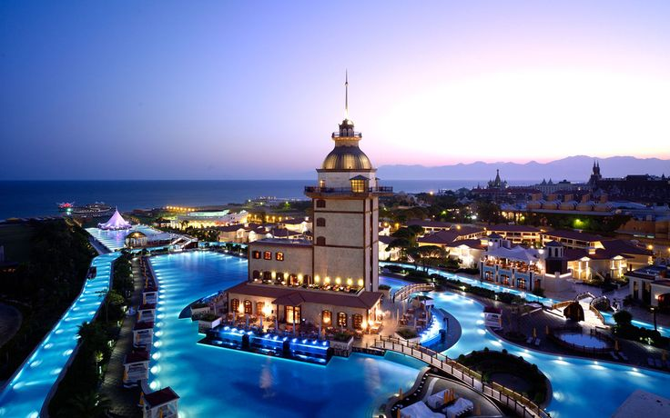 Now this is A POOL - Mardan Palace hotel in Antalya, a city on the Mediterranean coast of southwestern Turkey