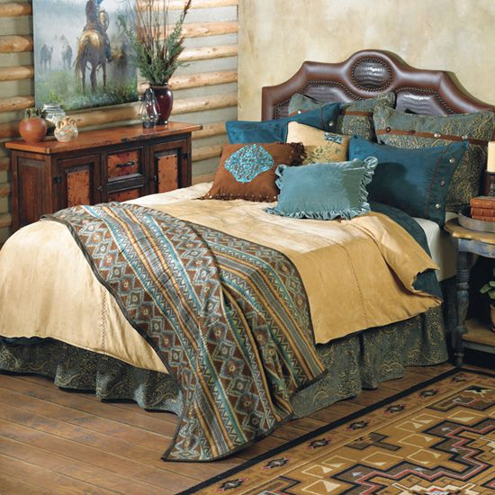 17 best images about western decor on pinterest western for Western style beds