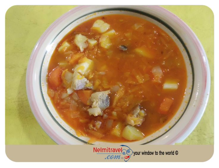 A traditional Russian soup that we enjoy eating at home. It is called Shchi.  http://nelmitravel.com/shchi/