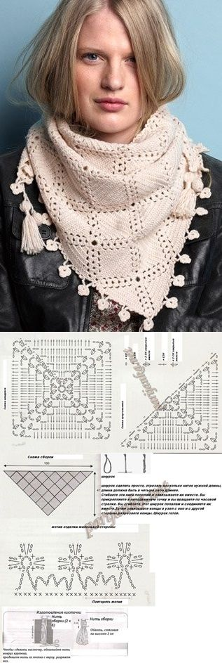 Crochet Shawl - wish I could find a written pattern or instructional video for this!