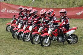 Kid Motocross training