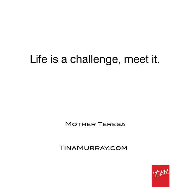 "I've found my greatest growth has come from every challenge I've met. In retrospect, most times I say ""thanks for the experience"". #quoteoftheday #motherteresa #life #challenge #bringiton #face #accept #live #evolve #lessons #experience #gratitude #thanksforthelesson #tinamurray #designyou #designitcommunicateitliveit"