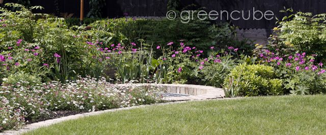 greencube garden and landscape design, UK: Pretty in PInk....