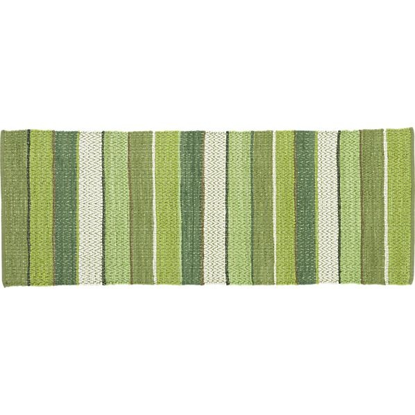 Harper Kale 2.5u0027x7u0027 Runner In Floor Runners | Crate And Barrel. Kitchen  RunnerKitchen RugFloor ...