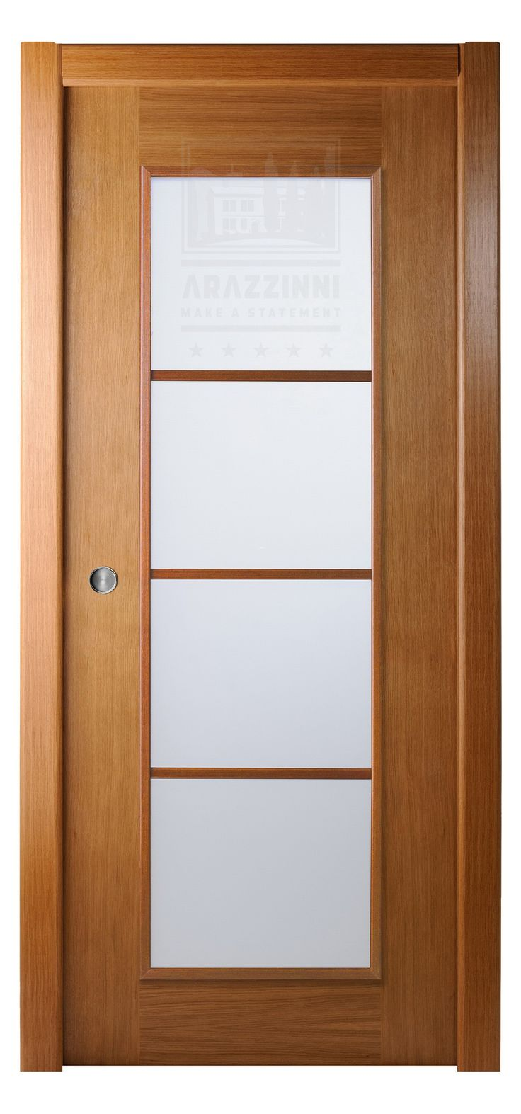 Arazzinni Modern Lux Interior Pocket Door Oak Nice