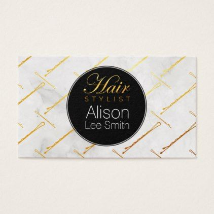 Hair Stylist Business Card - stylist business cards cyo personalize businesscard diy