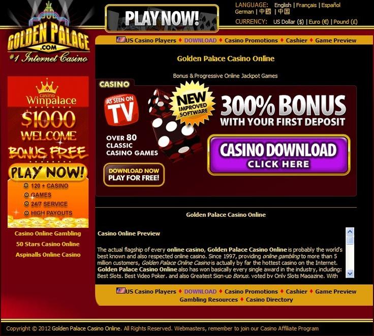 Golden Palace Casino Online