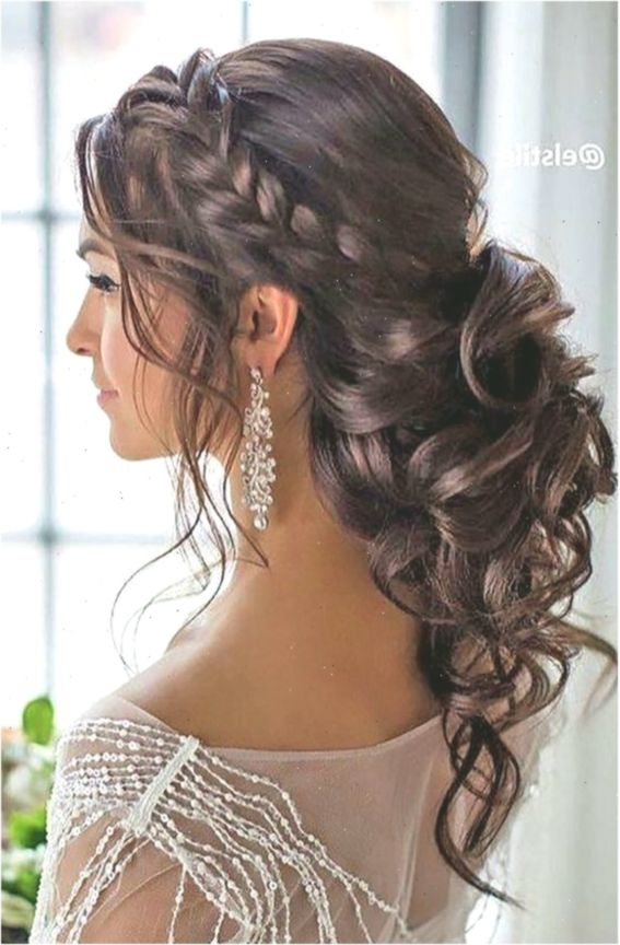 Bridal Hairstyles For Strapless Dress Hochzeitsfrisuren Bridal Dress Hairstyles Strapless Weddinghai Wedding Hair Half Hair Styles Short Hair Styles Easy