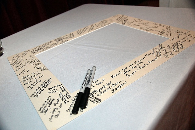 Guestbook wedding frame, this is what I'm going to do at my wedding.  I'll have a Pittsburgh city picture to put the mat around