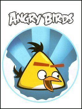 Yellow Angry Bird Flying Yellow Angry Birds Tem...