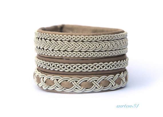 Free Shipping Swedish Traditional Sami Bracelet by surton31, $80.00