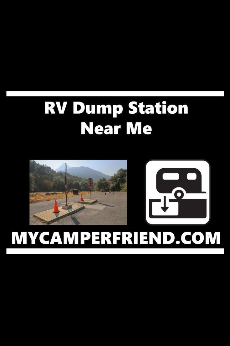 RV Dump Station Near Me   Travel route, Rv life, Rv travel