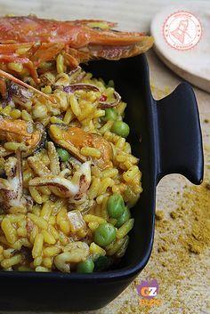 PAELLA DE MARISCO ricetta spagnola piatto unico