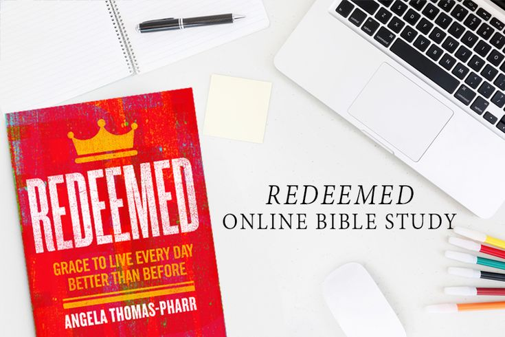 We are so excited we'll be studying Redeemedby Angela Thomas-Pharronline later this spring!We can't wait to see how God uses this study to help us learn and grow in what it means to live as redeemed women, conforming to the image of Christ. The study will begin on April20 and go until June 1. We'll …