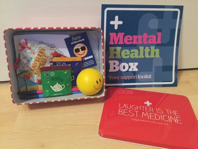 Mental health first aid kit, mental health box, resilience ...