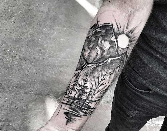 ▷ 1001 + super coole Arm Tattoos auf einen Blick