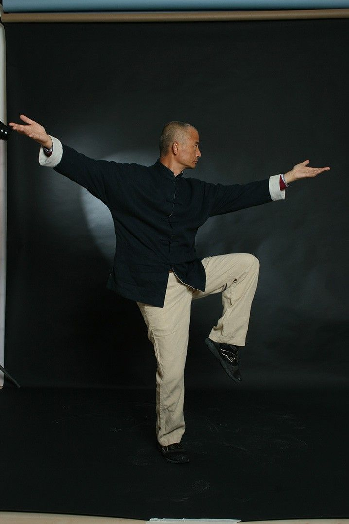 backstage, master wang, taijiquan classics, photo