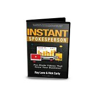 Instant Spokesperson Vol 4 is a new bundle of videos in 12 hot niches + 100s of hiqh quality backgrounds plus tons of music tracks in over 24 hot niches and a very powerful video editing software!