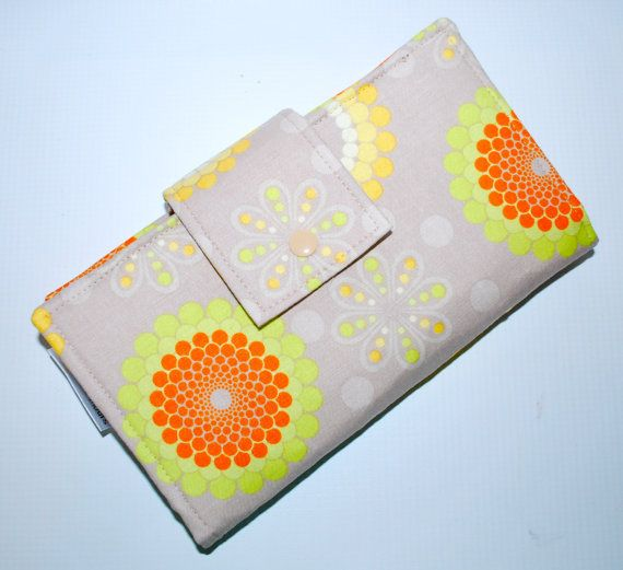 Cash Envelope System Wallet  Dave Ramsey  by moonorchidmotifs, $35.00