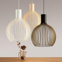 hierro creativo edison vintage colgante de la lmpara retro jaula colgante de luz lamparas colgantes e