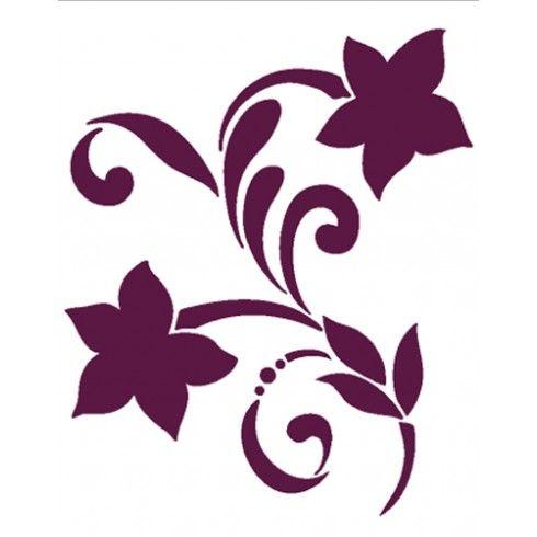 17 mejores ideas sobre plantillas para estarcido en - Plantillas de decoracion ...