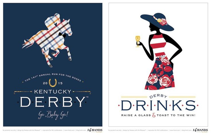 FREE Kentucky Derby® Party Printables – Derby Style // Hostess with the Mostess®
