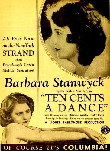 Diez centavos la danza - Pre-code - 1931: Diez centavos la danza - Pre-code - 1931