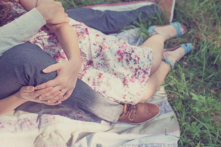 Séance Engagement, mariage, wedding, photography, lovers, amour, love, amoureux, liberty, fleurs, vintage