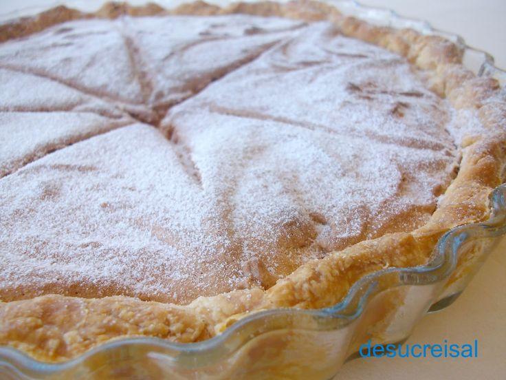de sucre i sal: TARTA DE HOJALDRE Y ALMENDRA