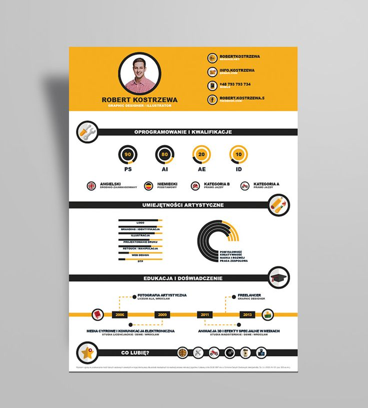 17 best CV Design images on Pinterest Resume, Resume design and - graphic design resume samples