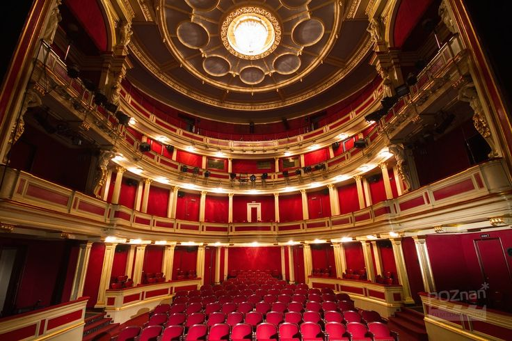 Poznań Poland, Teatr Polski [fot. Poznan Film Commission]