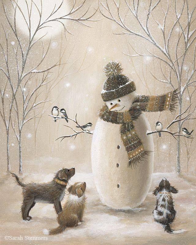 Мобильный LiveInternet Нежные, добрые и очень милые иллюстрации Sarah Summers   Tanita_Cat - Дневник Тианы  
